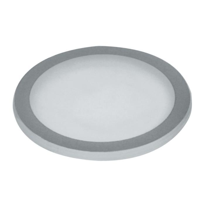 00GLAS9MM/.. - LAVA - ETNA, vervangglas - rond mat glas 9mm voor 1135-1136
