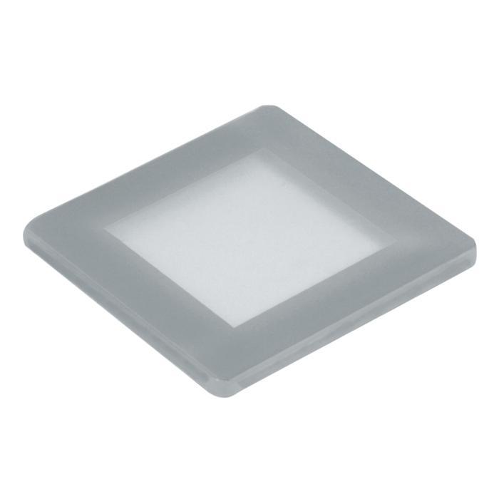 00GLAS5MMSQ/.. - LAVA - ETNA, vervangglas - vierkant mat glas 5mm voor 1138 - S1139