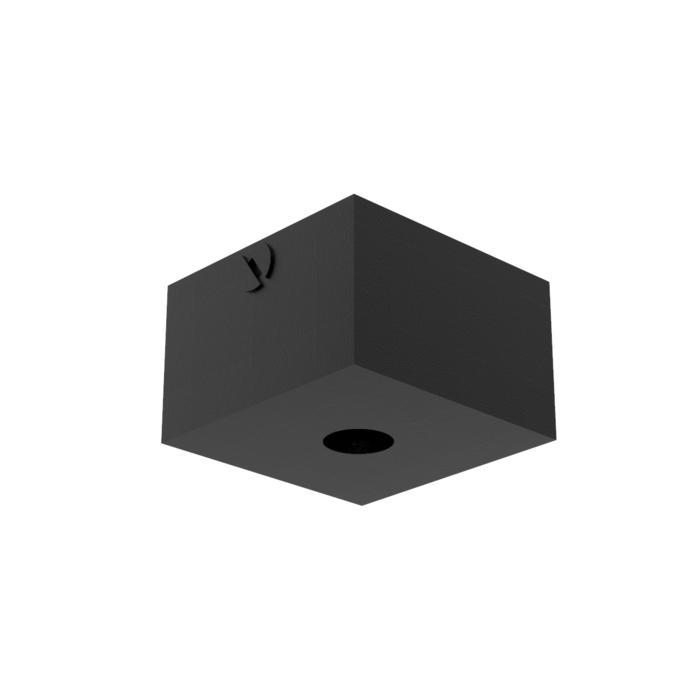 017/.. - ROSETTE UP, opbouwrozet - vierkant