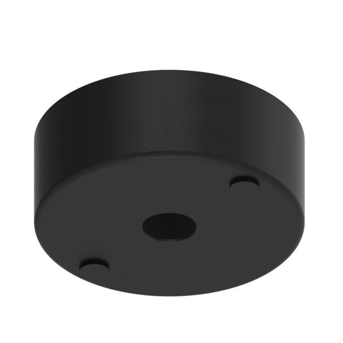 034.B3/.. - ROZET VOOR PENDEL, opbouwbasis voor pendel - rond - met bolgewricht  B3