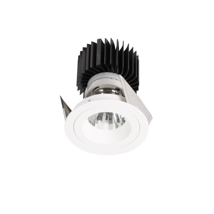 XTM.1300.10017.S2/.. - LUXOR Ø80, inbouwspot - rond - vast - met led - zonder LED driver