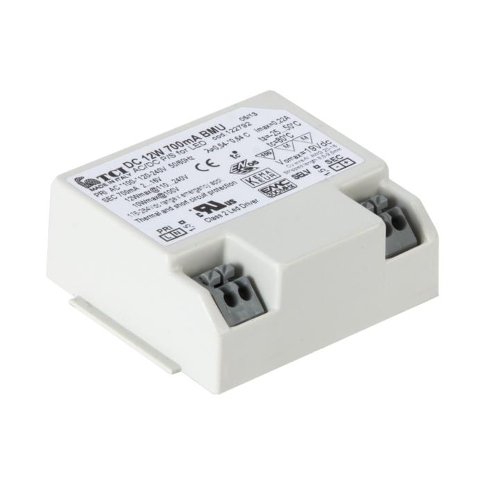 TR122790/.. - DRIVER, driver - DC 12W - BMU 12W 350mA - pas dimmable