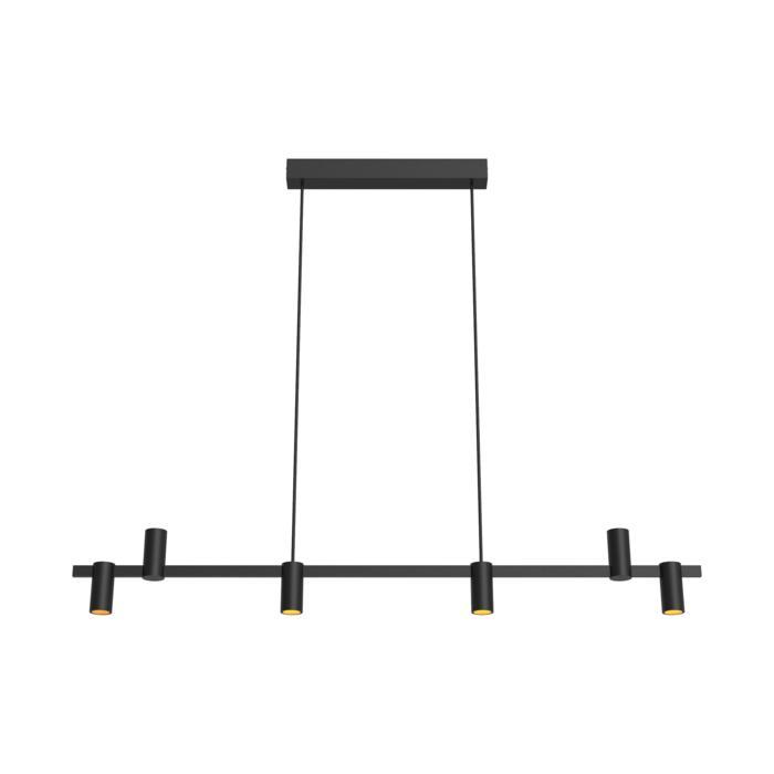 1350/.. - TALLY, hanglamp met bolgewricht - stang inkortbaar - vast - down/up - met LED driver