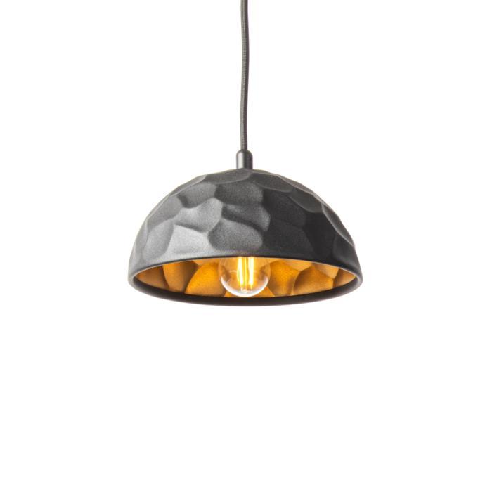 1397/.. - ROCKY, hanglamp - met 1,5m textielkabel en trekontlasting aan fitting