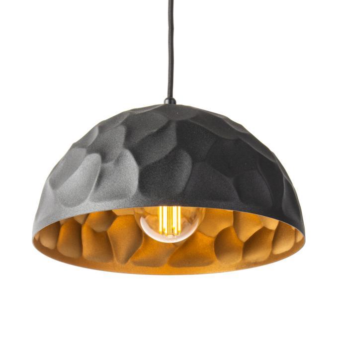 1399/.. - ROCKY, hanglamp - met 1,5m textielkabel en trekontlasting aan fitting