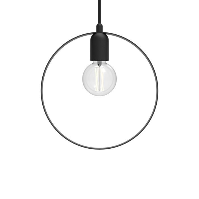 1409/.. - C-LINE, suspension  - avec 1,5m de câble textile et arrêt de câble à la douille