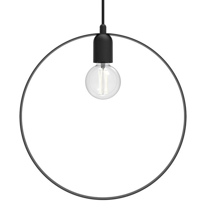 1410/.. - C-LINE, hanglamp - met 1,5m textielkabel en trekontlasting aan fitting