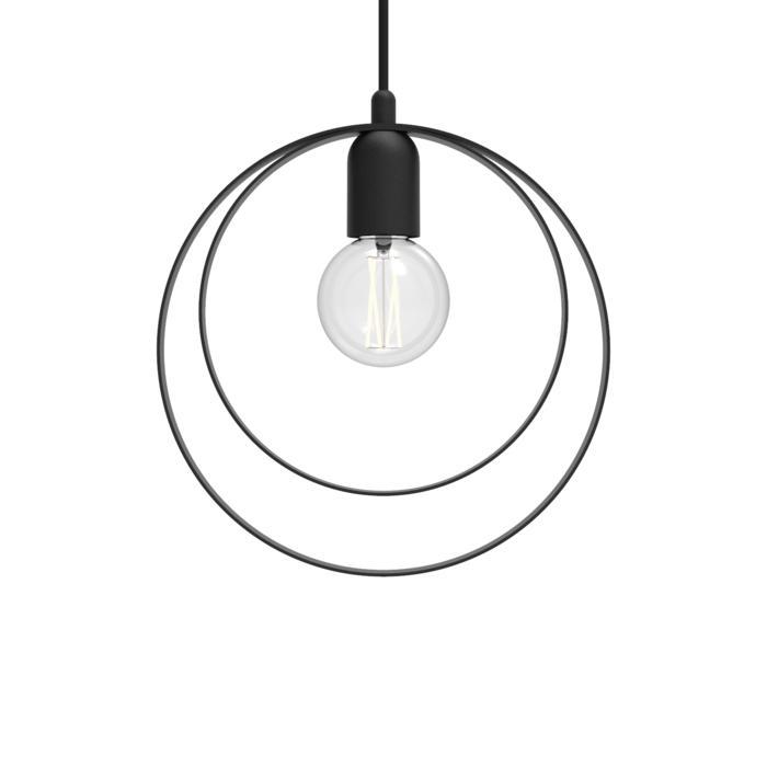 1417/.. - C-LINE, hanglamp - met 1,5m textielkabel en trekontlasting aan fitting