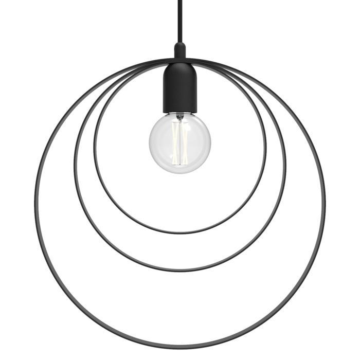 1418/.. - C-LINE, hanglamp - met 1,5m textielkabel en trekontlasting aan fitting