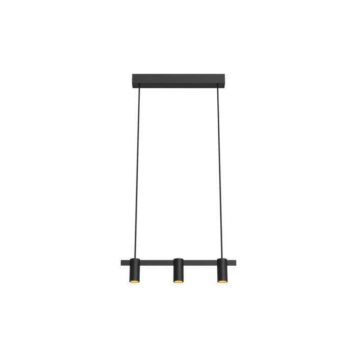 1423/.. - TALLY, hanglamp met bolgewricht - stang inkortbaar - vast - down - met LED driver