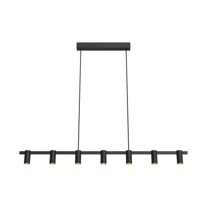 1427/.. - TALLY, hanglamp met bolgewricht - stang inkortbaar - vast - down - met LED driver