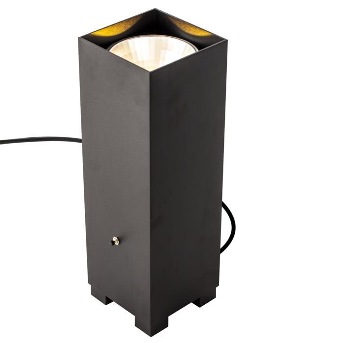1486/.. - BOOSTER, Indirecte verlichting - vierkant - vast - up - met snoer en stekker - met LED driver