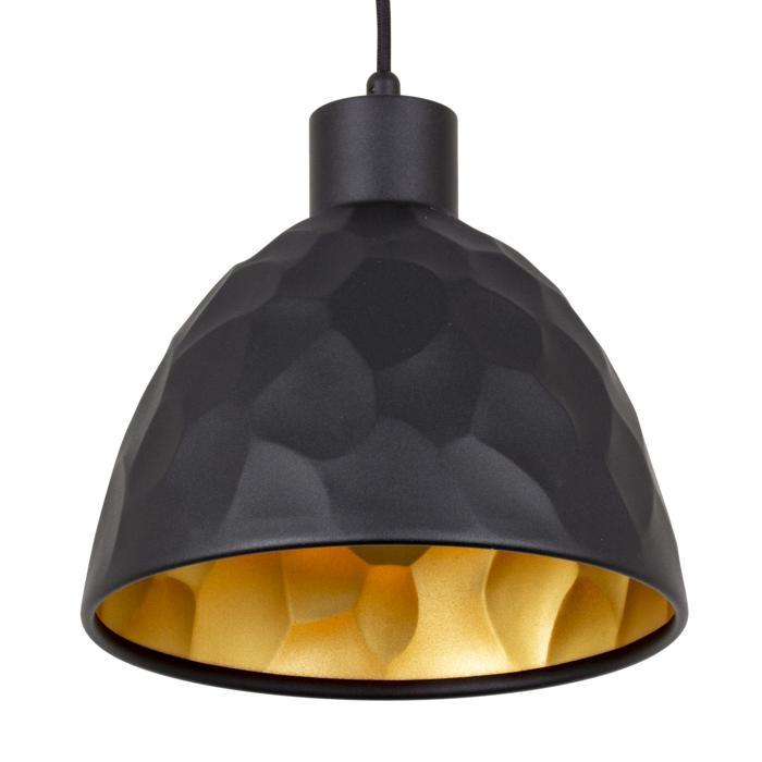 1489/.. - ROCKY, hanglamp - met 1,5m textielkabel en trekontlasting aan fitting