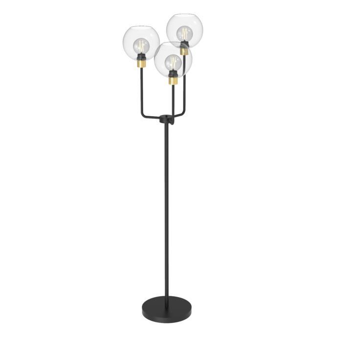 1517.B.E27/.. - CLEO - MOBY, staanlamp - vast - met snoer en stekker