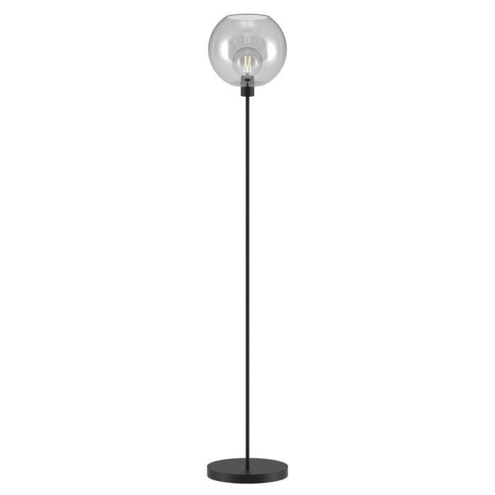 1536.C.E27/.. - MOBY Ø250, staanlamp - vast - met schakelaar + snoer