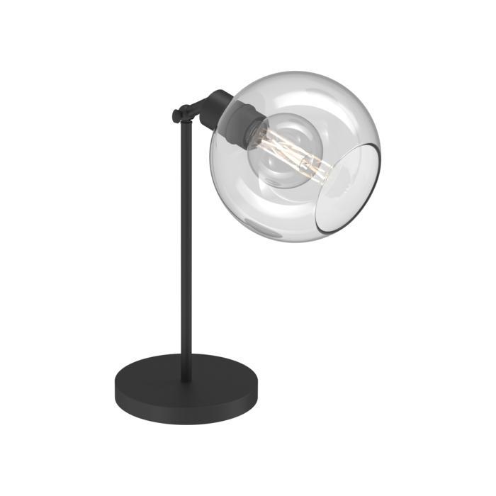 1620.SH.B.300/.. - MOBY SH Ø180, tafellamp - richtbaar - met schakelaar + snoer