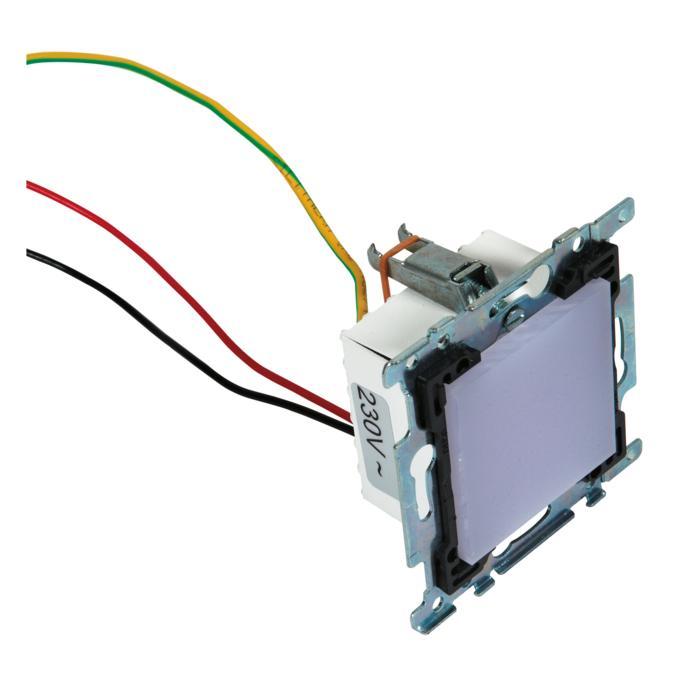 1634C.230V/.. - MIA X  - voor niko afdekkader, inbouw wandlicht