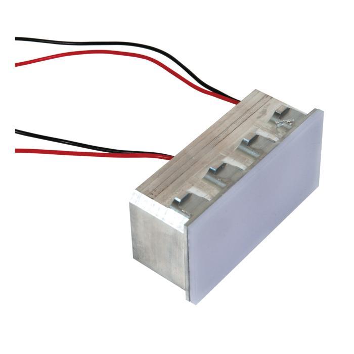 1636.24V-DC/.. - BRUNA voor frame bticino, inbouw wandlicht - gelijkstroom - zonder transfo
