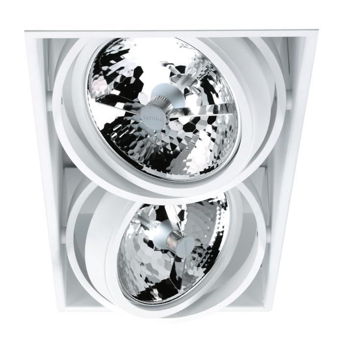 1852/.. - SPINNER X, inbouw plafondverlichting - vierkant - richtbaar - zonder transfo