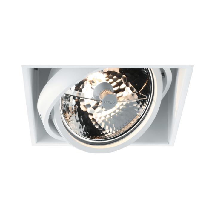 1851/.. - SPINNER X, inbouw plafondverlichting - vierkant - richtbaar - zonder transfo