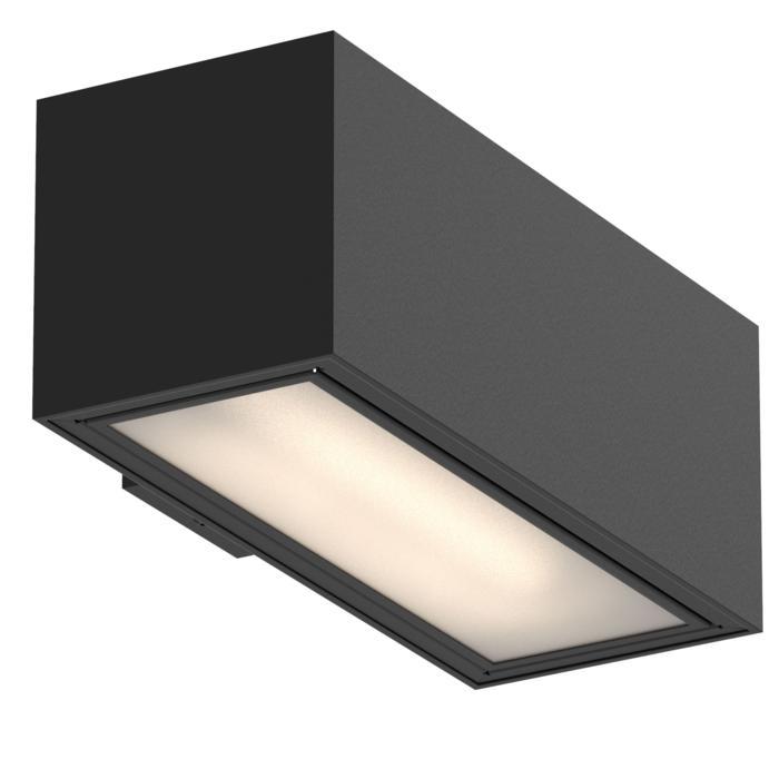 1717.TCDE/.. - BETAPLUS, opbouw wandlicht - vierkant - vast - down - met glas - met electronische ballast