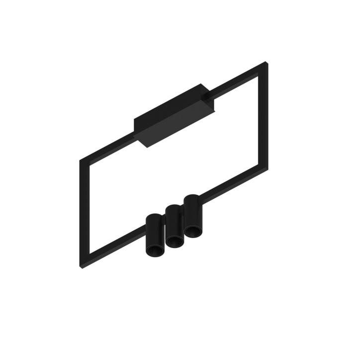 1743.CEN.3/.. - THINDR, opbouw plafondverlichting - vast - voeding centraal - met LED driver