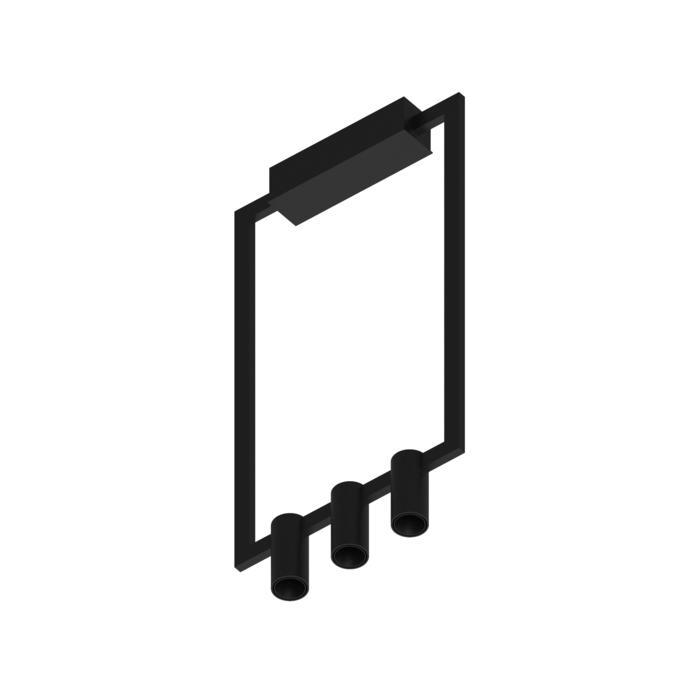 1744.CEN.3/.. - THINDR, opbouw plafondverlichting - vast - voeding centraal - met LED driver
