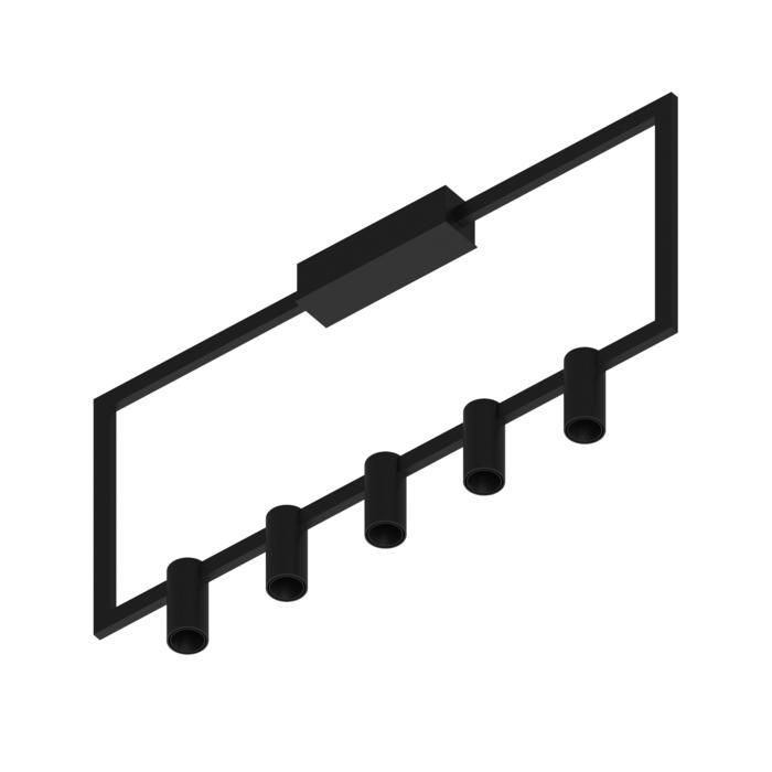 1745.CEN.5/.. - THINDR, opbouw plafondverlichting - vast - voeding centraal - met LED driver