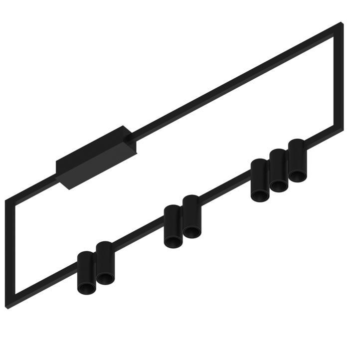 1747.AS.7/.. - THINDR, opbouw plafondverlichting - vast - voeding asymmetrisch - met LED driver