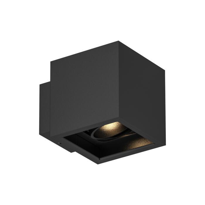 1751.ES50/.. - BETAPLUS, opbouw wandlicht - vierkant - richtbaar - down