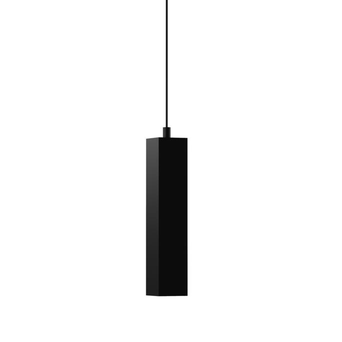 1844.ES50.300/.. - MERO PENDEL, suspension  - carré - avec 1,5m de câble textile et arrêt de câble à la douille