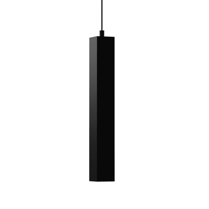 1846.AC.450/.. - MERO PENDEL, hanglamp - vierkant - met 1,5m textielkabel en trekontlasting aan fitting