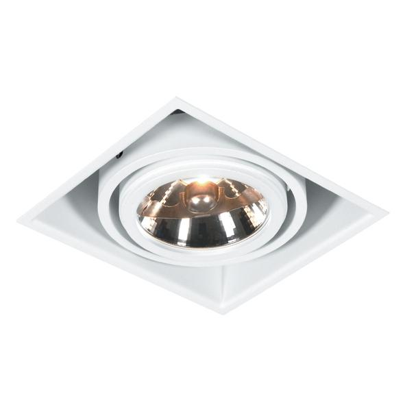 1871.GU10/.. - SPINNER X AR70 GU10, inbouw plafondverlichting - vierkant - richtbaar