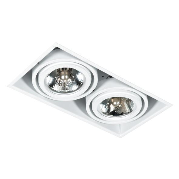 1872.GU10/.. - SPINNER X AR70 GU10, inbouw plafondverlichting - vierkant - richtbaar