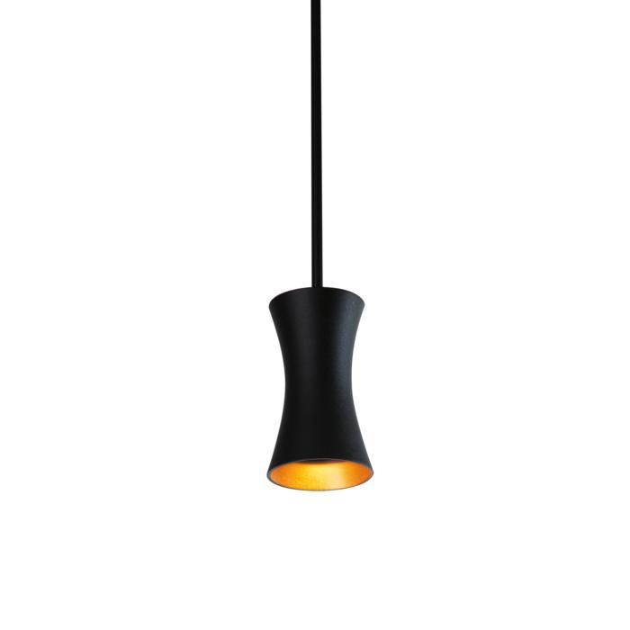 3407.B3/.. - CLARA, hanglamp met bolgewricht - stang inkortbaar - vast