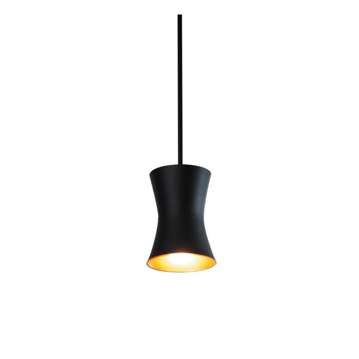3406.B3/.. - CLARA, hanglamp met bolgewricht - stang inkortbaar - vast
