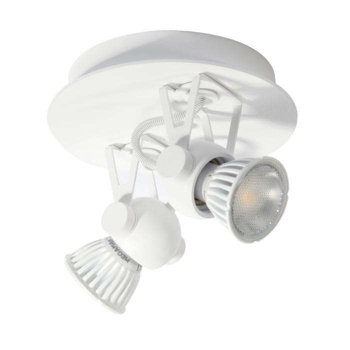3243/.. - RINGO, opbouw plafondverlichting - richtbaar - met basis Rondobox