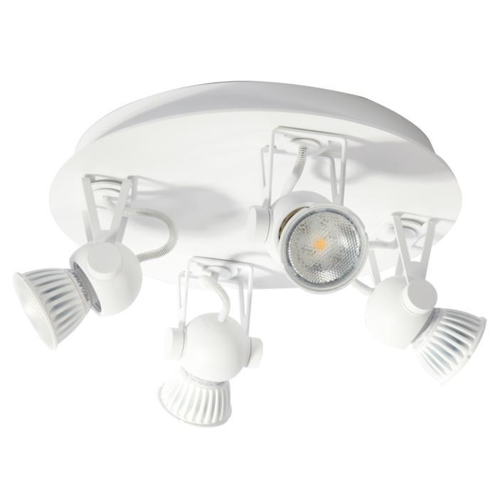 3245/.. - RINGO, opbouw plafondverlichting - richtbaar - met basis Rondobox