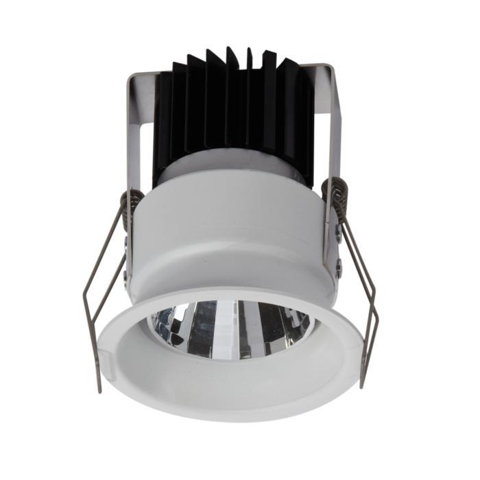 1762.IP20.S1/.. - KOZA X Ø70.IP20, inbouwspot - vast - zonder LED driver