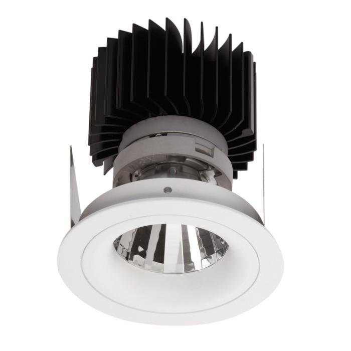 1390.IP20.S2/.. - LUXOR BOMBA.IP20, inbouwspot - rond - vast - met led - zonder LED driver