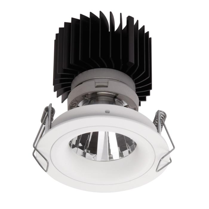 1390.IP20.S1/.. - LUXOR BOMBA.IP20, inbouwspot - rond - vast - met led - zonder LED driver