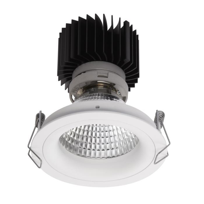 1392.IP20.S1/.. - LUXOR BOMBA.IP20, spot encastrable - rond - fixe - avec led - sans driver LED