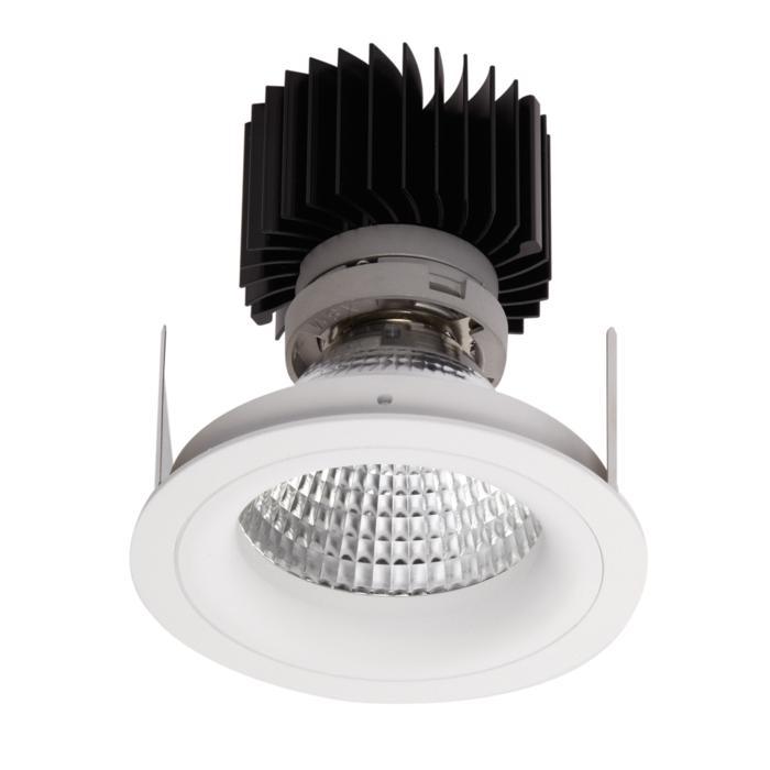 1392.IP20.S2/.. - LUXOR BOMBA.IP20, inbouwspot - rond - vast - met led - zonder LED driver