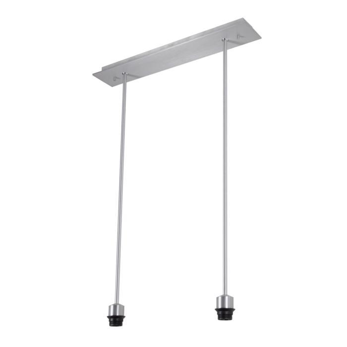5012/.. - MAESTRO FOR SHADE, hanglamp met bolgewricht - stang inkortbaar - voor lampenkap