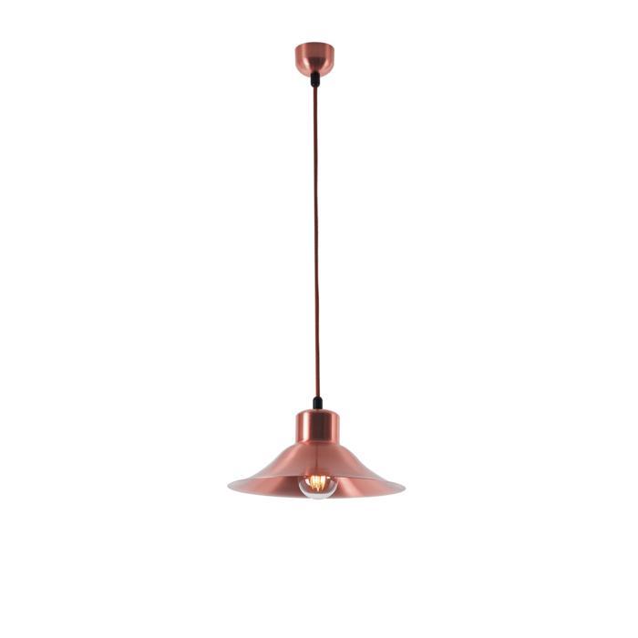 3500/.. - CIMBALO, hanglamp met textielkabel - met opbouwrozet