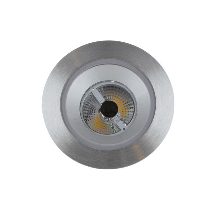 3173/.. - FLUX INOX 316 Ø92, inbouwspot - rond - vast - met helder glas