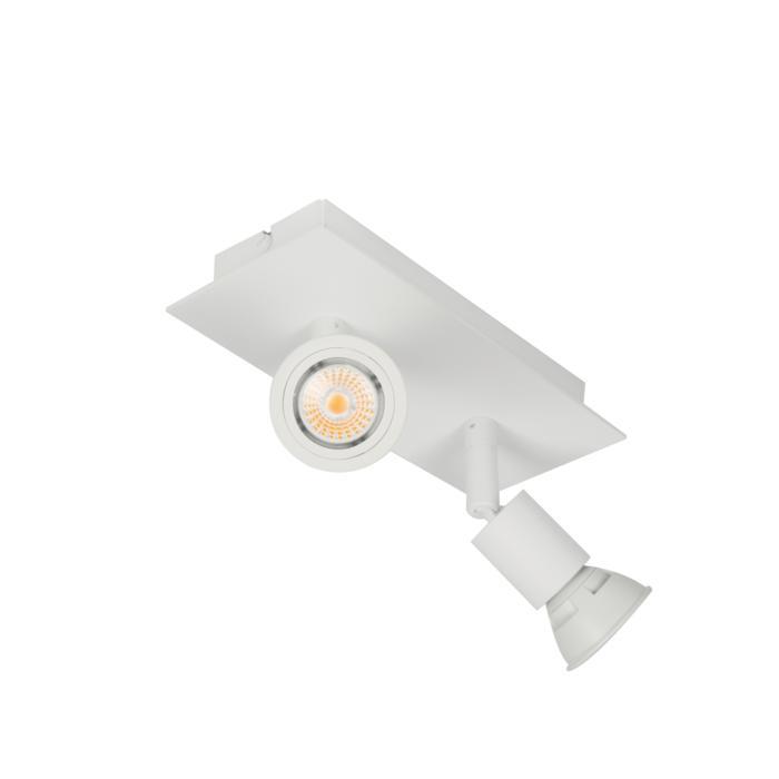 4512/.. - CAPUCINE, opbouw plafondverlichting - richtbaar - met basis Texo