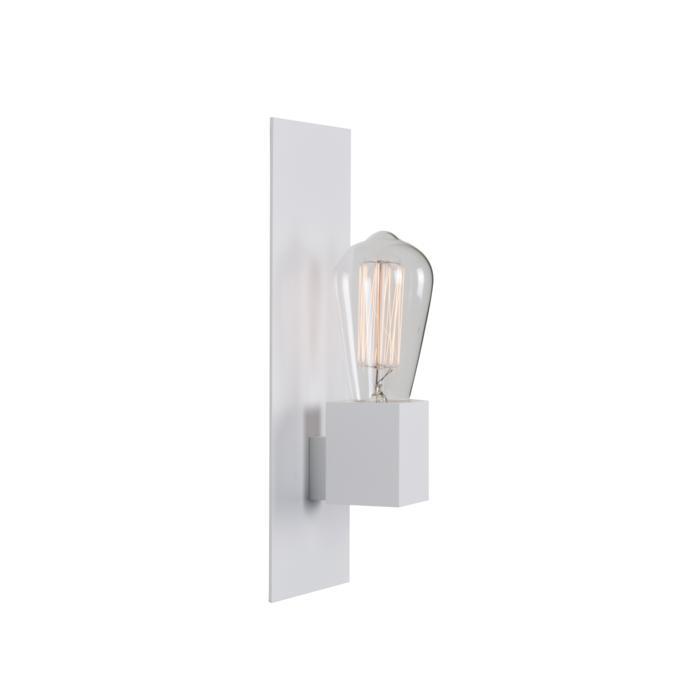 5110.S/.. - ONTARIO, opbouw wandlicht - met frontplaat en vierkante lamphouder
