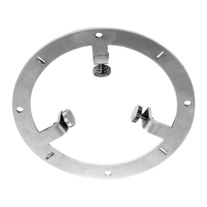 E-CALIBER/.. - EQUAL CLICK SYSTEM, herbruikbaar kaliber voor het plaatsen van de ring in gyproc of beton