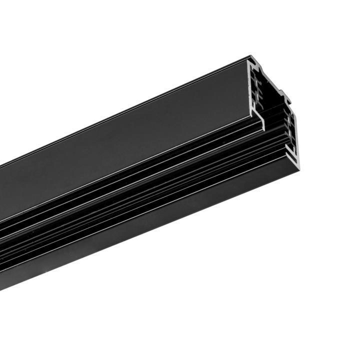 8110/.. - MERO 3FASE TRACK, Aufbauschiene 2 Meter für drei Stromkreise